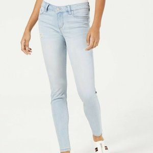 Celebrity Pink Juniors Ripped Skinny Jeans